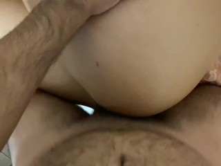 Teen Rides me Nice and Slow then i fuck her