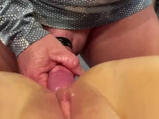 Blonde Hot Milf Wife Has Anal with Hubbies Big Cock and Ass Fucked Well Super Hot !