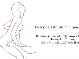 Hysterical Literature Orgasm #1   跳蛋阅读 Read, play and multiple edging orgasms