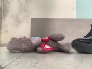 Mistress Jade Crushes And Spits On Teddy
