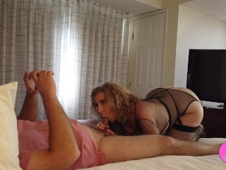 POV LEGENDARY Sara Jay Fuck & BJ with Amateur Fan! Part1