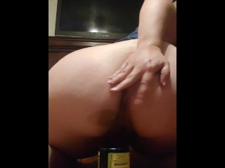 Bbw milf with gaping loose asshole
