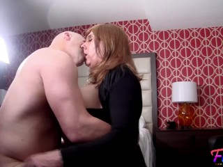 Christian and Crossdresser Jamie Making Out