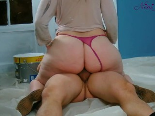 My step sister still wants again to suck me and she want too i fuck her big ass on the job!