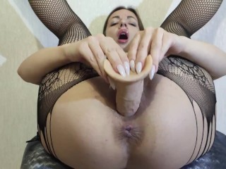 An orgasm from the powerful vibration in my pussy