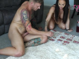 Sexy Onlyfans Girl Squirts EVERYWHERE During A Hot Kama Sutra Game!