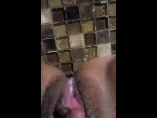 Pissy Wet Creamy Pussy... come eat me with a spoon!