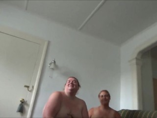 'Fuck Pig and Frangelica Blow Me while husband watches' PlanetFunCamp Sacey Dagon Huge Tits BBW BJ