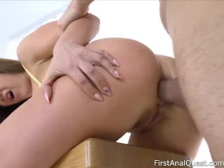 Natali Ruby's Hottest Anal Fuck with a Creampie