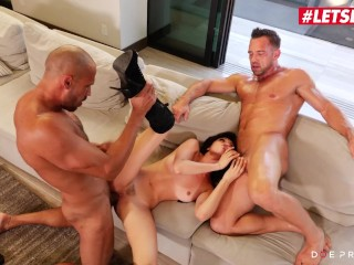 DOEPROJECTS - ARIANA MARIE AMERICAN BABE HAS INSANE PASSIONATE THREESOME SEX FULL SCENE