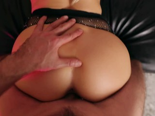 Oiled Babe Rides Herself To A Loud Orgasm -Tina Who