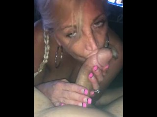 Wife neicey lee giving a great blow job