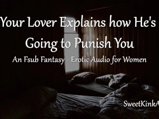 [M4F] Your lover tells you what he's going to do to you - Erotic Audio for Women
