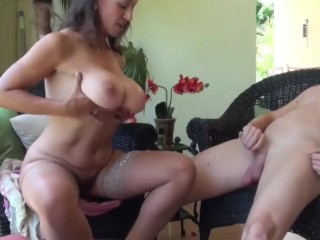 Fun with lonely divorced MILF