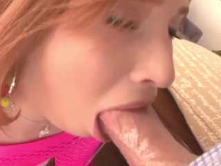 Young pink pussy tastes so sweet to cum inside