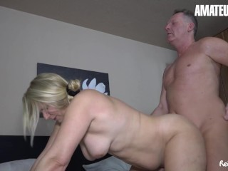 REIFESWINGER - SWEET SUSI CHUBBY GERMAN MATURE HOT FUCK WITH OLD GUY