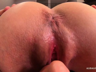 Closeup POV Licking Clit and Pussy - Real Female Orgasm