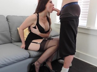 Short BJ Before Party
