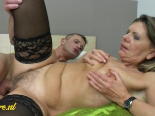 MatureNL - Posh Housewife Wants Her Hairy Pussy Fucked By Her Neighbor