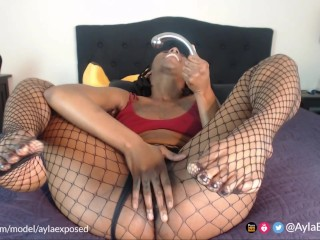 Ayla - Njoy Squirting Practice 3x - Live Webcam (April 27, 2019)