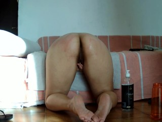 ANAL FISTING PLAY WITH DILDO AND ASSFUCKING