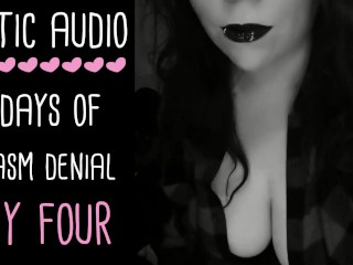 Orgasm Control & Denial ASMR Audio Series - DAY 4 OF 5 (Audio only | JOI FemDom | Lady Aurality)