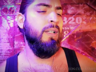 ASMR Strict Boss Role Play Ft. Cigar Smoking, Straitening Talk, Ownership, Whips, +