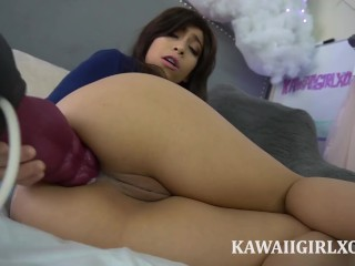Massive Anal Creampie From Nova The Breeder - Huge Bad Dragon