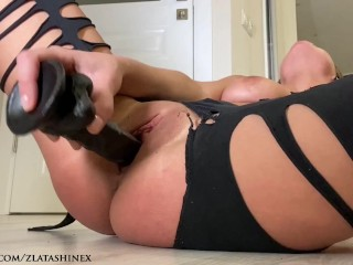 Workout Ended With Black Cock In My Pussy