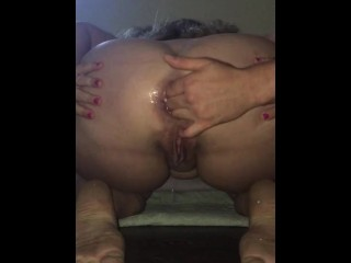 Pure anal gape, prolapse & squirt