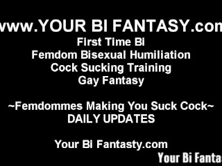 Bisexual Domination And Femdom Training Videos
