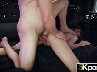 5KPORN - Sultry Redhead Maya Kendrick Receives Multiple Creampies