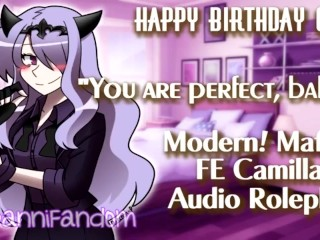 【r18+ ASMR/Audio Roleplay】Wholesome Talks and BDay Sex w/ Camilla【F4M GIFT 4 FRIEND】