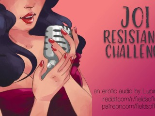 JOI Resistance Challenge - Dirty Talk - Erotic Audio Roleplay
