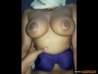 Amateur Busty Muslim Babe with Big Boobs Having Sex