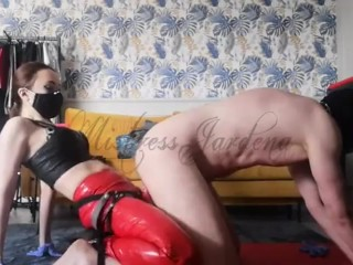 My cheap whore was trained in the ass by the new dildo- full clip on my Onlyfans (link in bio)