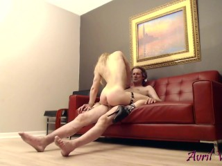Chained Ass-to-Mouth Cockslut