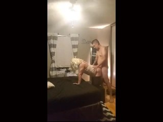 Letting The Neighbors Barely Legal Son Fuck My Ass