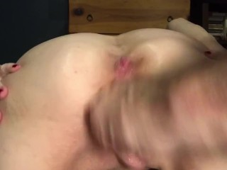 Mature MILF GILF Big Pussy Stretched, Extreme Fist Fuck, Gaped & Rewarded With Squirt!