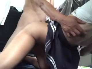 Sexy Pinay Student Armpit Licking and Doggy Pounding