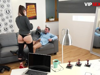 ExposedCasting - Luna Rival Seductive French Teen Takes Big Cock In Her Tight Pussy On Camera