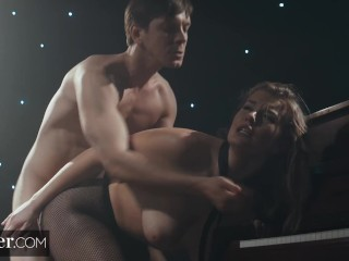 Deeper. Busty Mia Melano Endures Rough Sex for an Audition