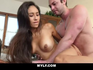 Mom Rewarding Helpful Stepson With A Hard Fuck