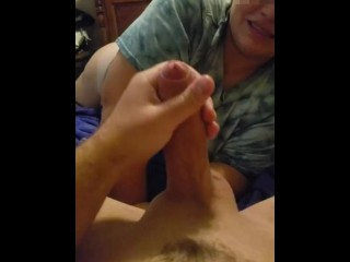 CUM EXPLOSION - Prostate Massage by Passionate Couple