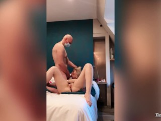 Cheating Husband Loves Blowjob, Fisting Neighbor's Ass and Bring Her to Orgasm