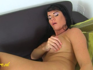 Horny MILF Raven loves It When She's Home Alone!