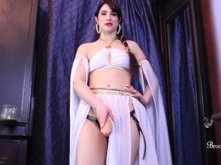 Goddess Worship And Bi Training Tease With Brookelynne Briar
