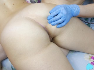 My Old Video Big Beautiful Ass First Attempts Anal Training, Finger Training Anal Milf
