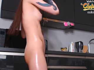 BlackMango_Mary Dancing with Ass in Oil Show from Chaturbate