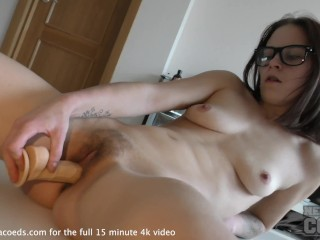 pov directors cut fingering hot beauty during first time casting